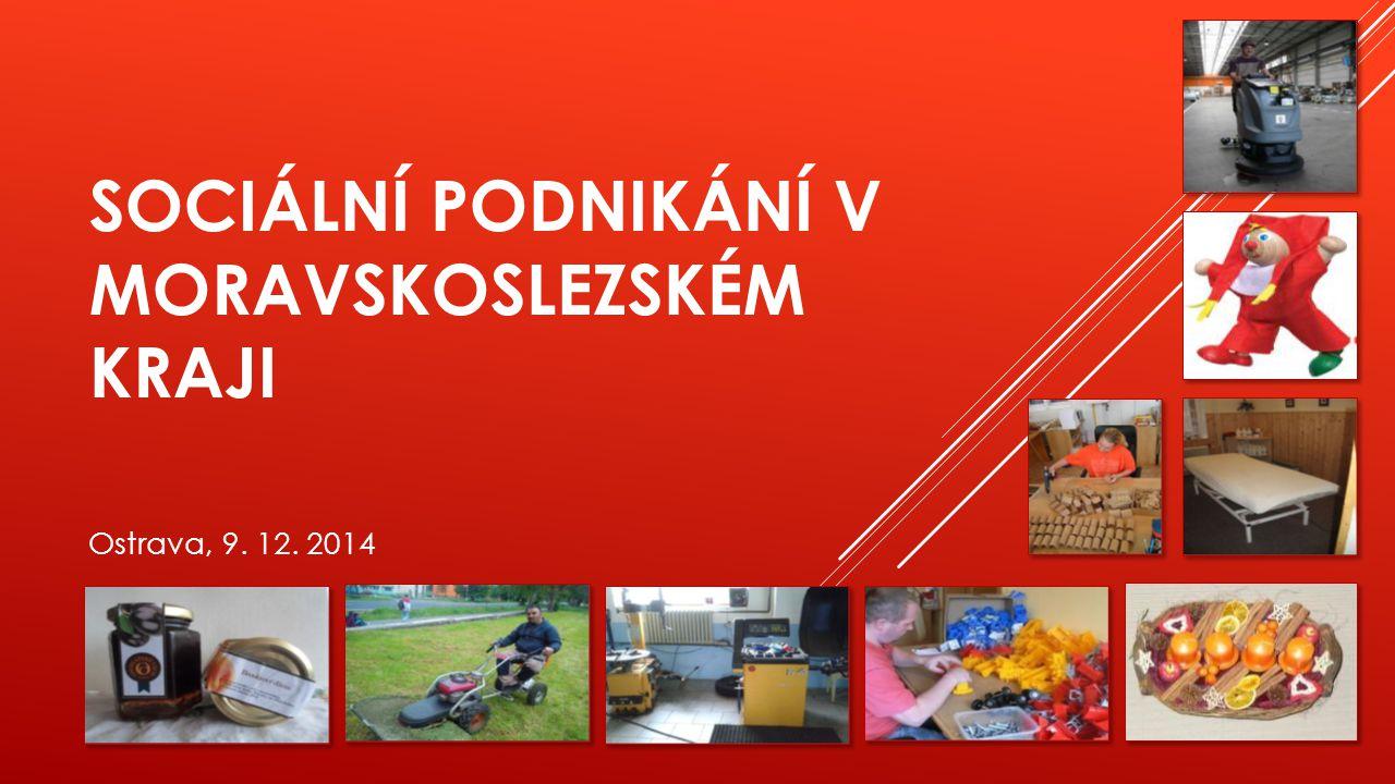 Sociální podnikání v Moravskoslezském kraji