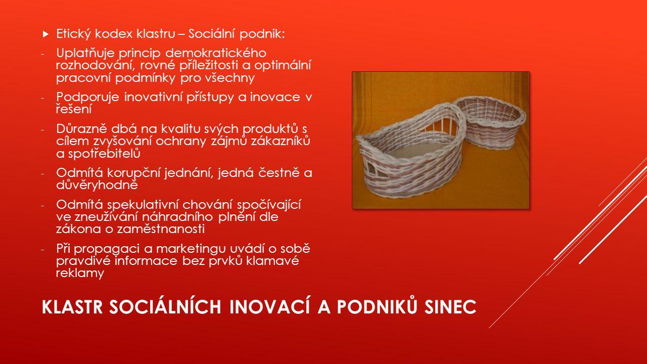 Klastr sociálních inovací a podniků SINEC