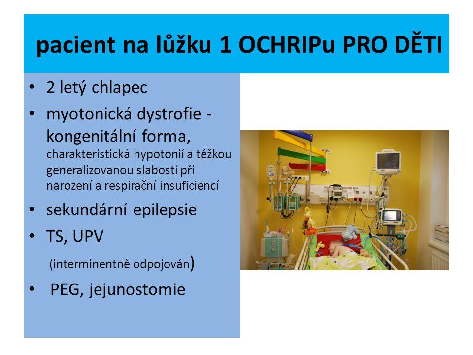 pacient na lůžku 1 OCHRIPu PRO DĚTI
