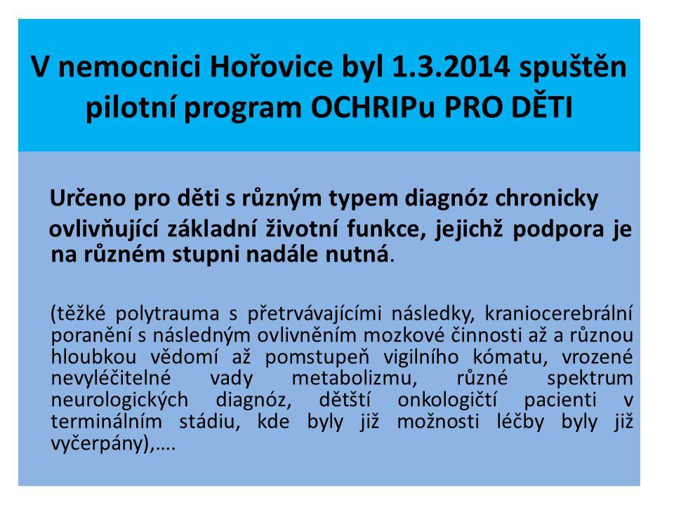 V nemocnici Hořovice byl 1. 3