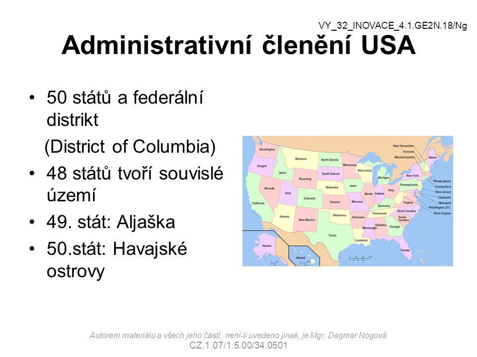 Administrativní členění USA