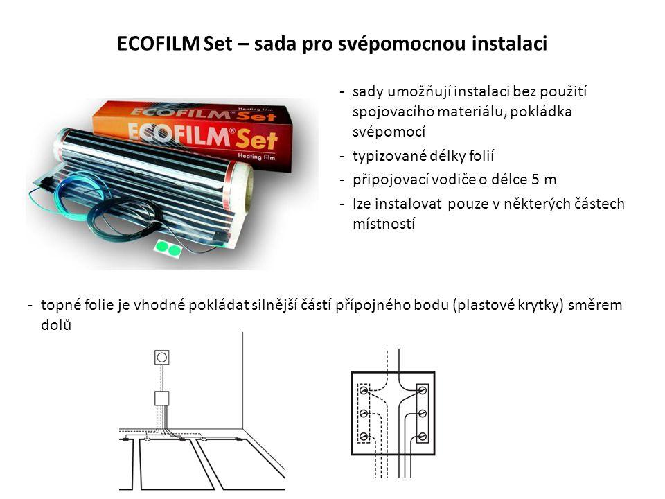 ECOFILM Set – sada pro svépomocnou instalaci