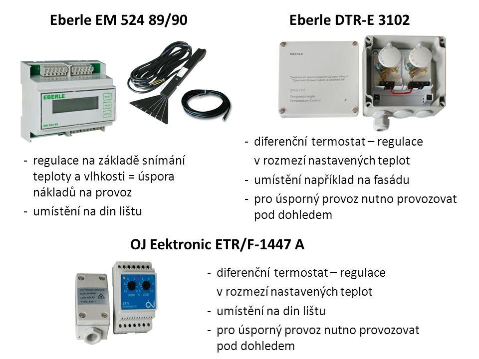 Eberle EM 524 89/90 Eberle DTR-E 3102 OJ Eektronic ETR/F-1447 A