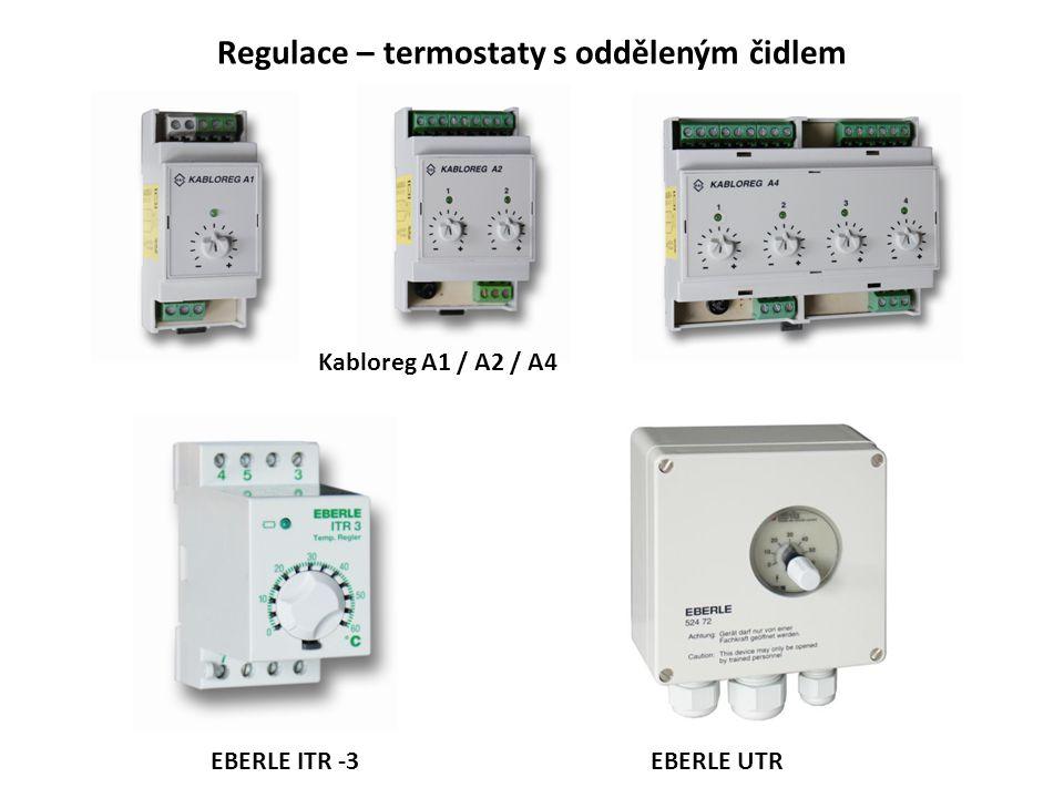 Regulace – termostaty s odděleným čidlem