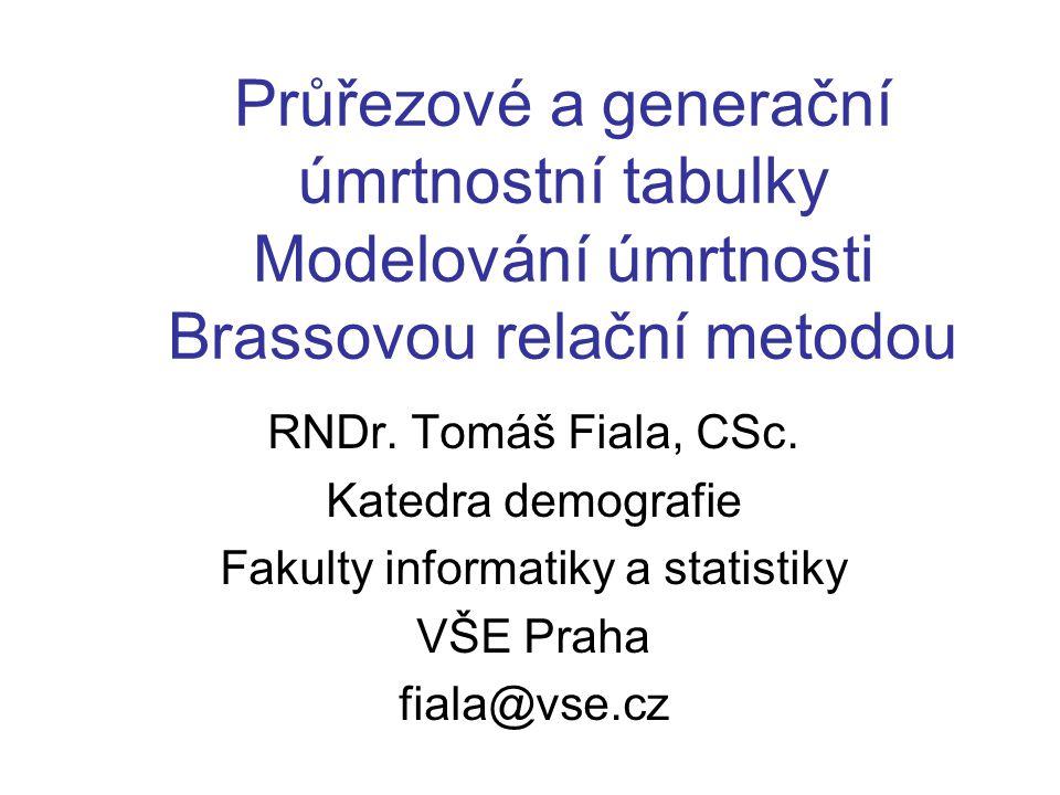 Fakulty informatiky a statistiky