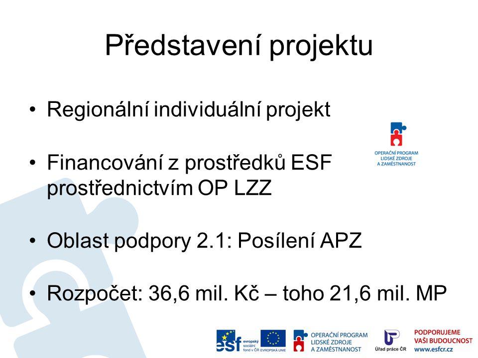 Představení projektu Regionální individuální projekt