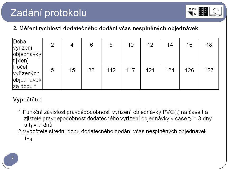 Zadání protokolu 7