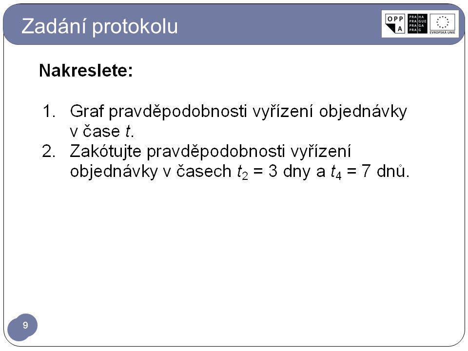 Zadání protokolu 9