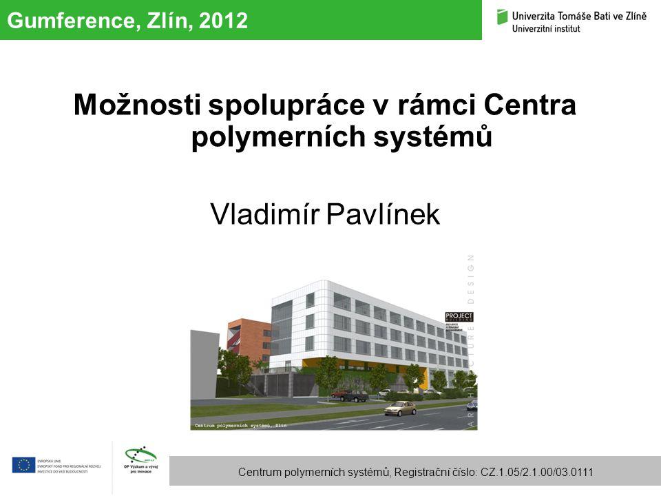 Možnosti spolupráce v rámci Centra polymerních systémů