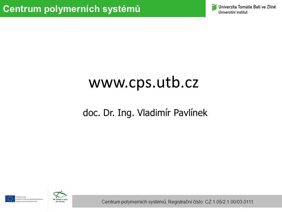 doc. Dr. Ing. Vladimír Pavlínek