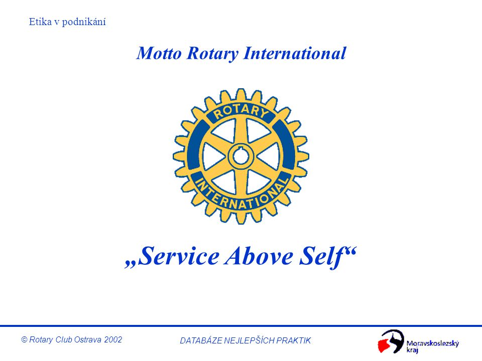 Motto Rotary International