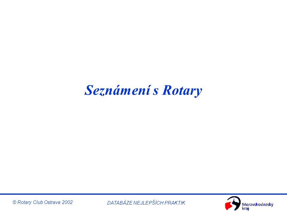 Seznámení s Rotary