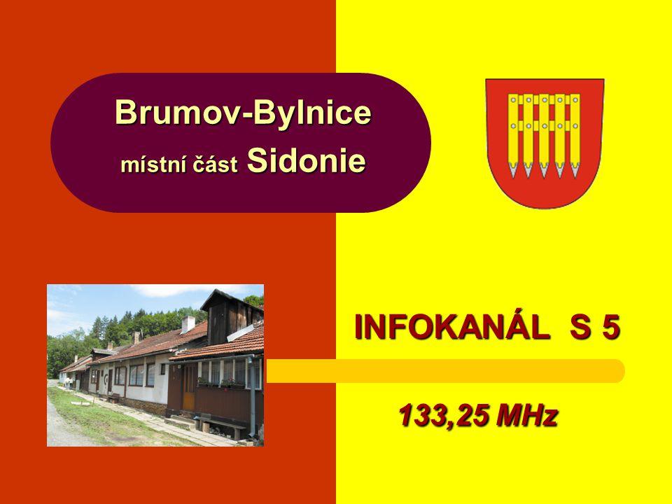 Brumov-Bylnice místní část Sidonie