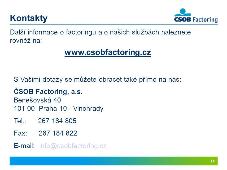 Kontakty www.csobfactoring.cz
