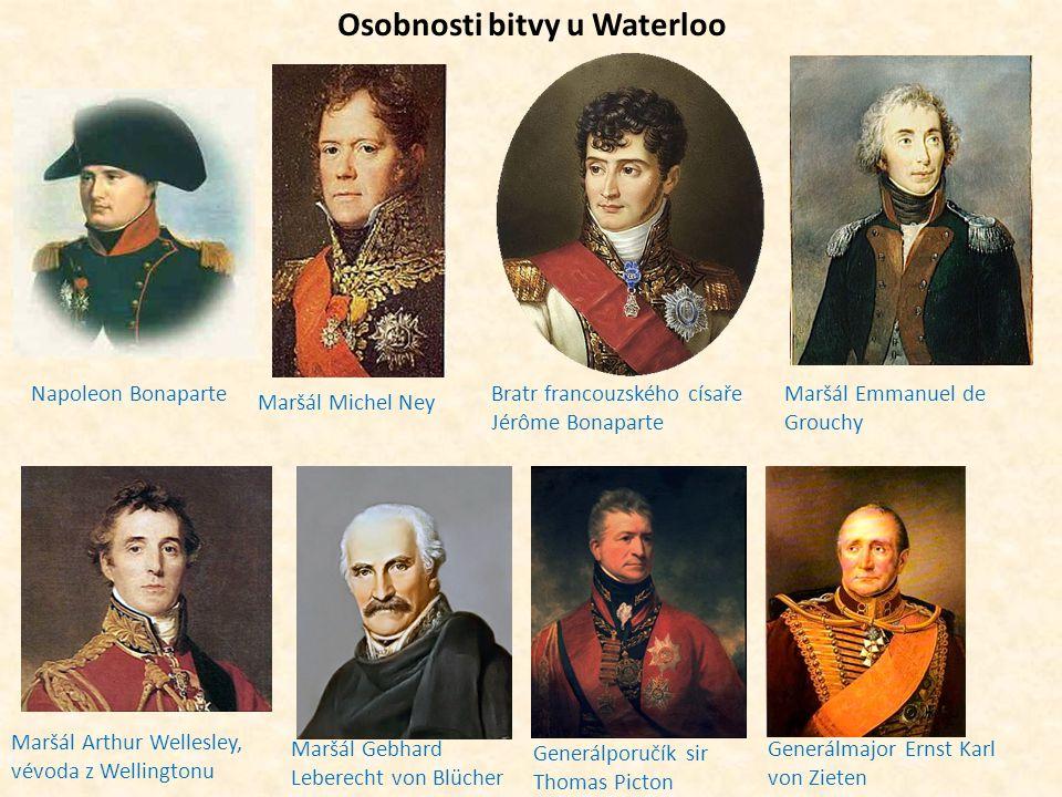 Osobnosti bitvy u Waterloo