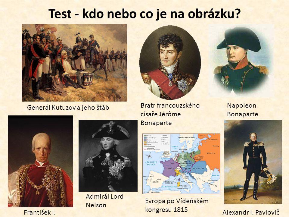 Test - kdo nebo co je na obrázku