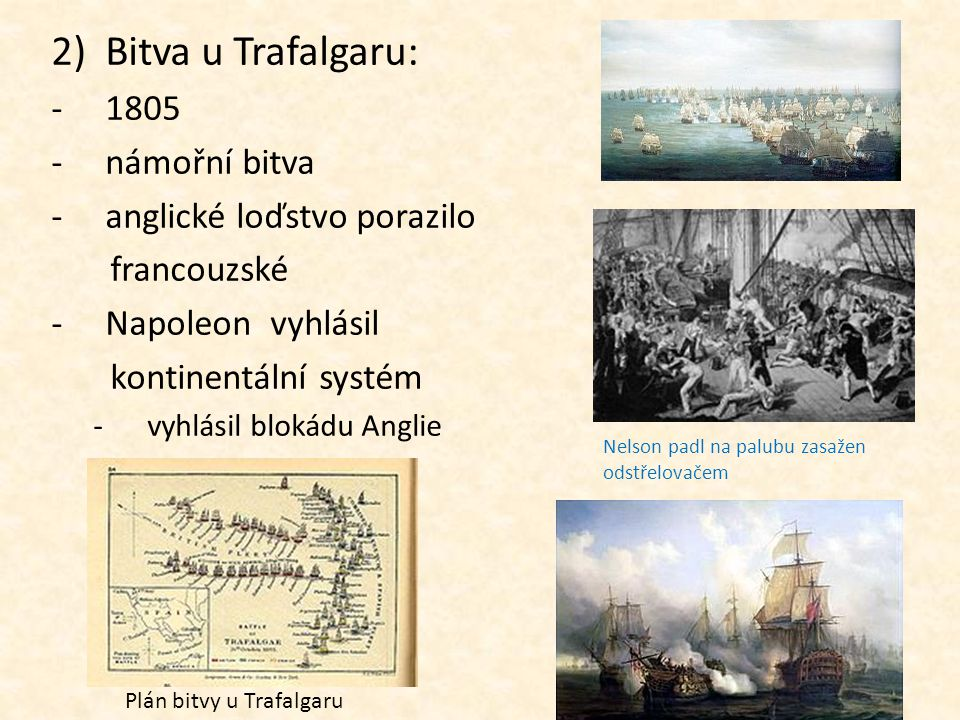 Plán bitvy u Trafalgaru