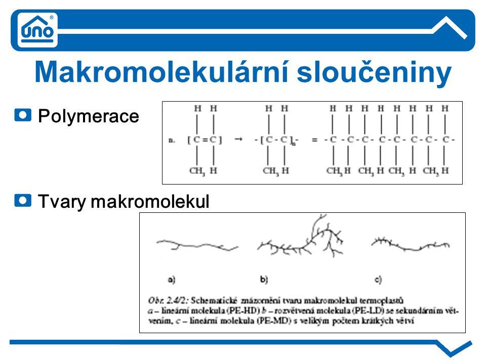 Makromolekulární sloučeniny