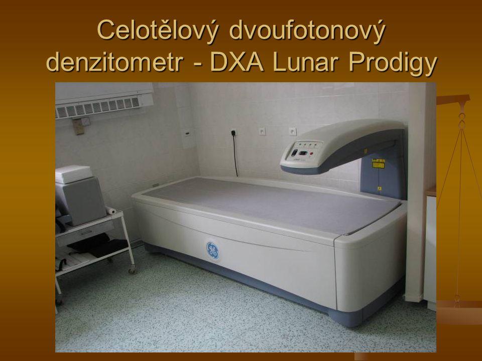 Celotělový dvoufotonový denzitometr - DXA Lunar Prodigy