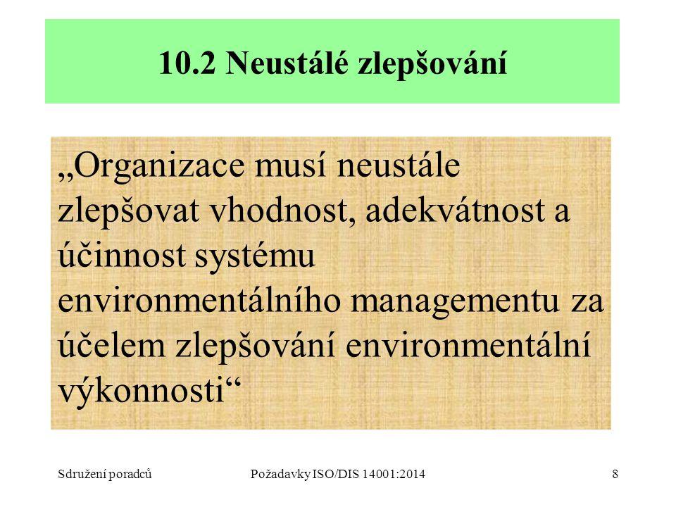 Podklady ke školení ISO 14001:2004. 10.2 Neustálé zlepšování.