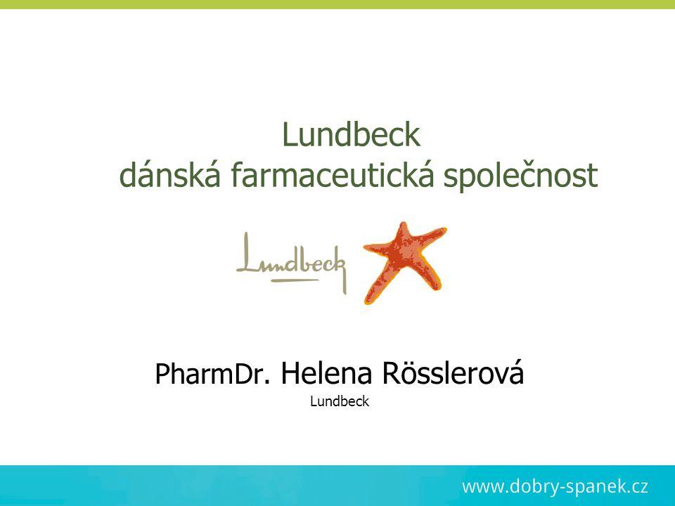 Lundbeck dánská farmaceutická společnost