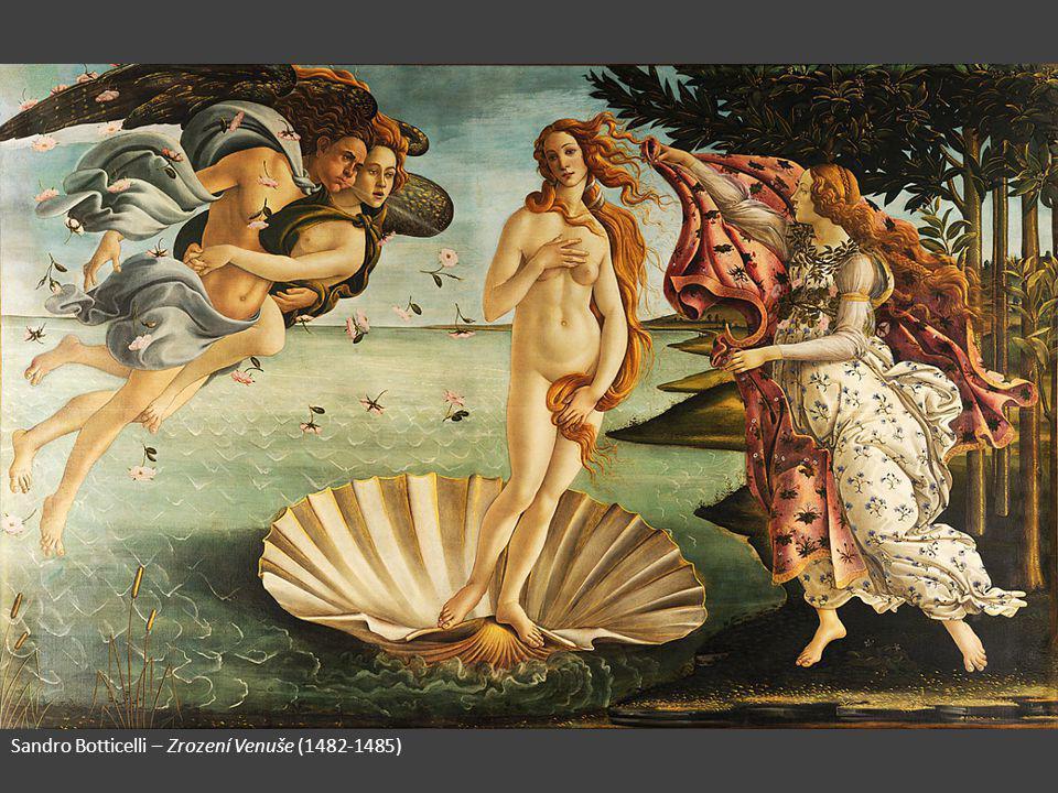 Sandro Botticelli – Zrození Venuše (1482-1485)
