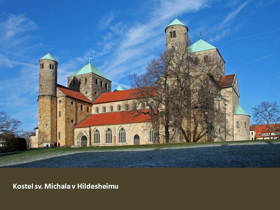 Kostel sv. Michala v Hildesheimu