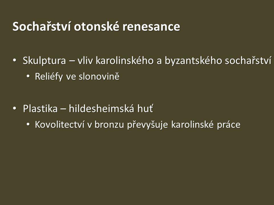 Sochařství otonské renesance
