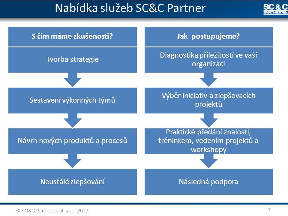 Nabídka služeb SC&C Partner