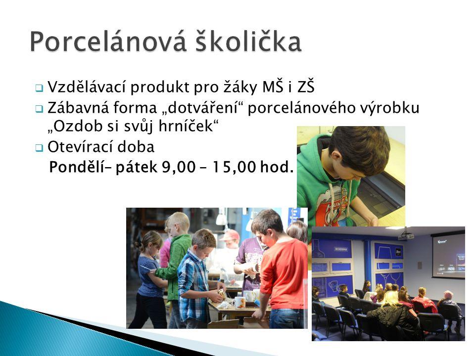 Porcelánová školička Vzdělávací produkt pro žáky MŠ i ZŠ