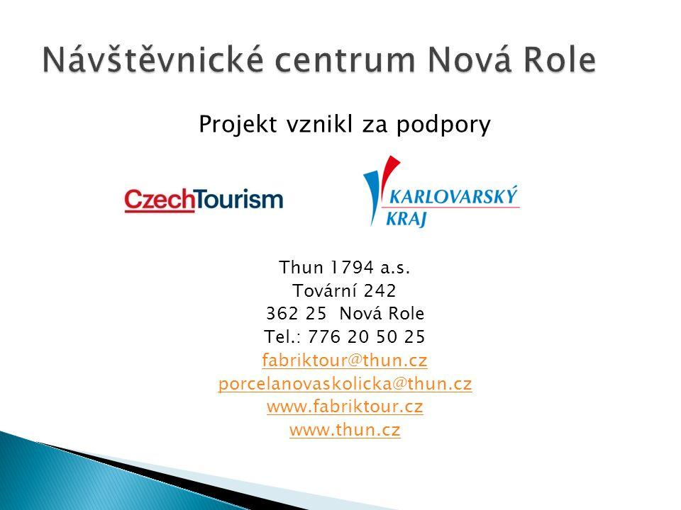 Návštěvnické centrum Nová Role