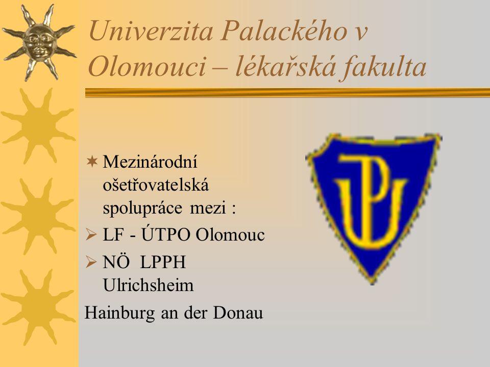 Univerzita Palackého v Olomouci – lékařská fakulta