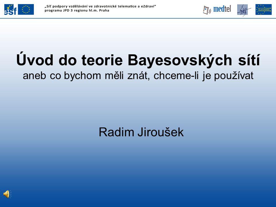Úvod do teorie Bayesovských sítí aneb co bychom měli znát, chceme-li je používat