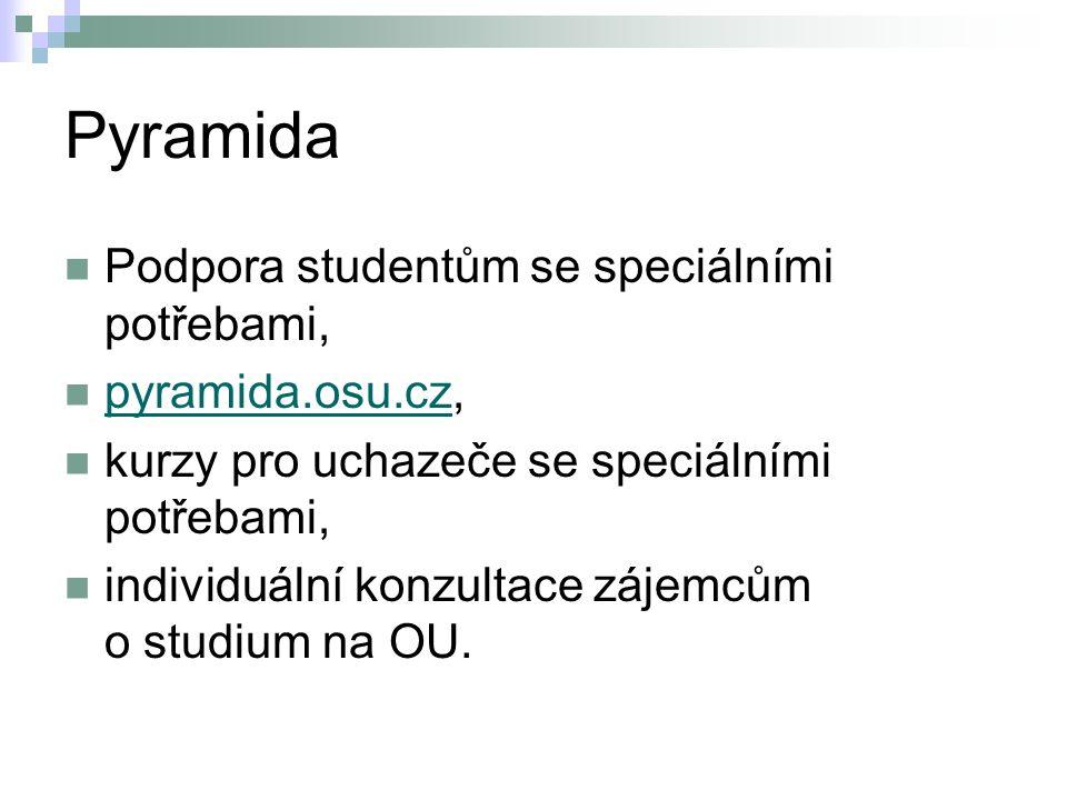Pyramida Podpora studentům se speciálními potřebami, pyramida.osu.cz,
