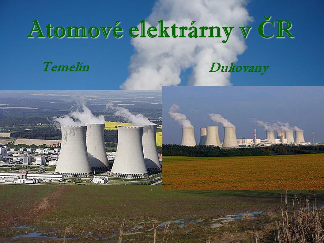 Atomové elektrárny v ČR
