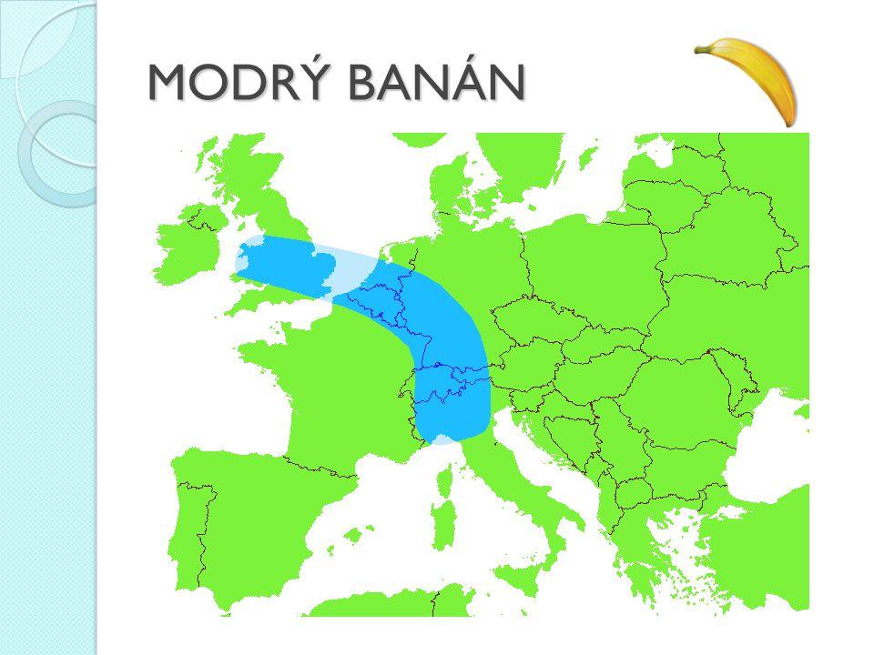 MODRÝ BANÁN