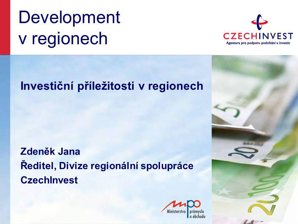 Development v regionech