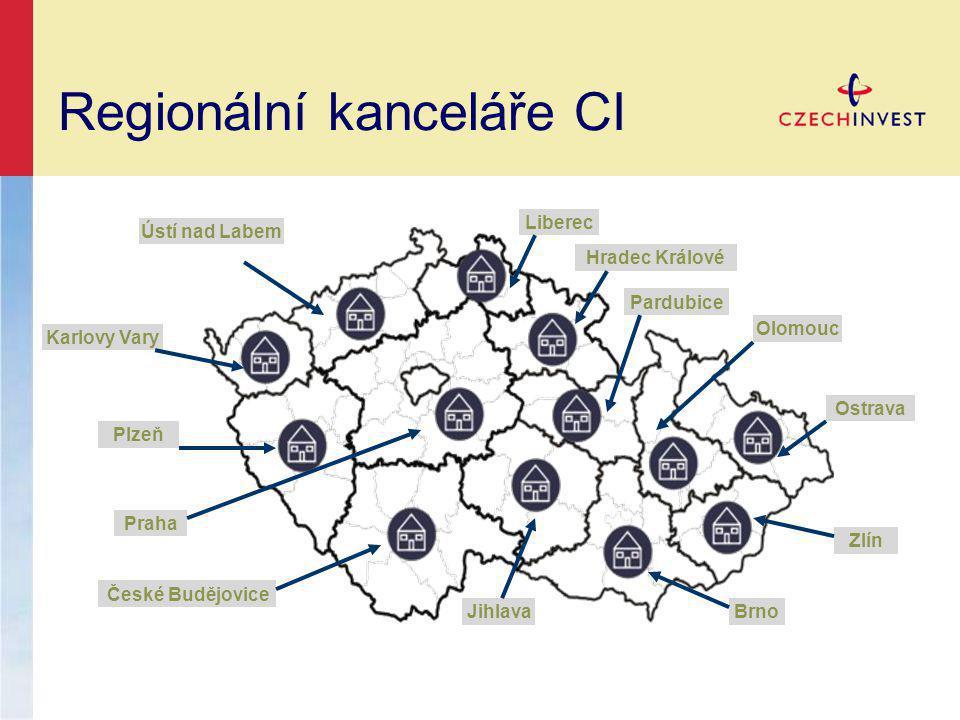 Regionální kanceláře CI