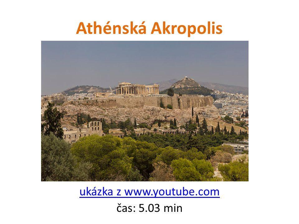 ukázka z www.youtube.com čas: 5.03 min