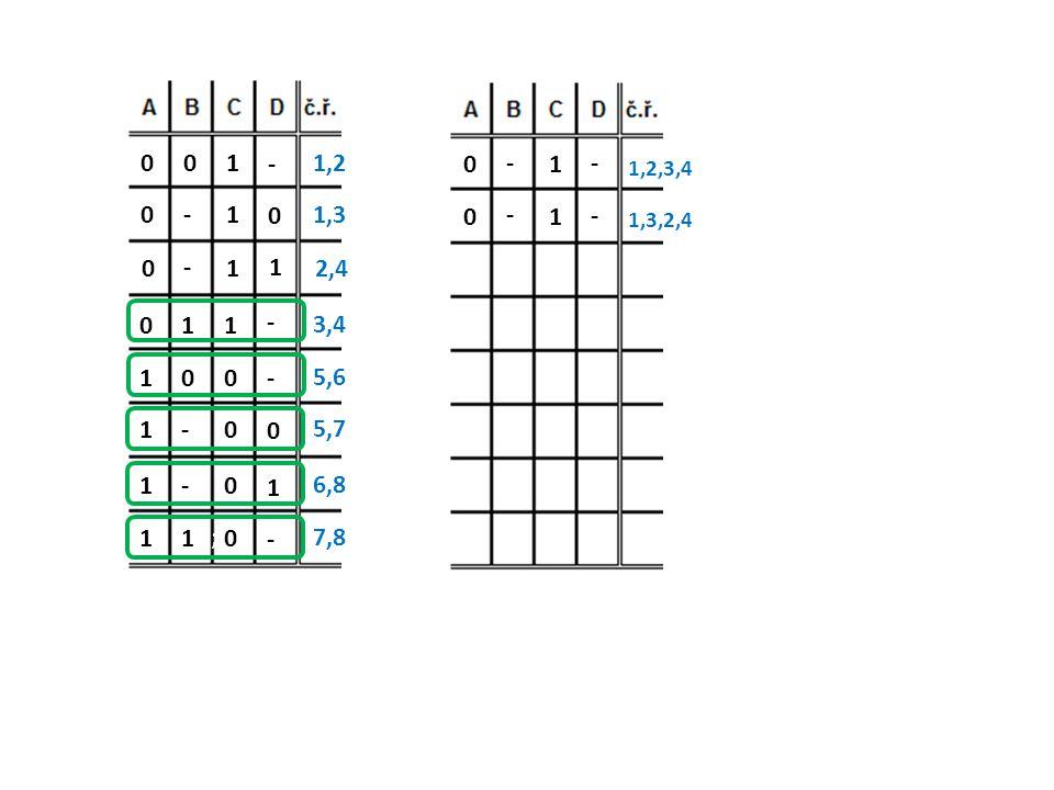 1 - 1,2. - 1. - 1,2,3,4. - 1. 1,3. - 1. - 1,3,2,4. - 1. 1. 2,4. 1. 1. - 3,4. 1.