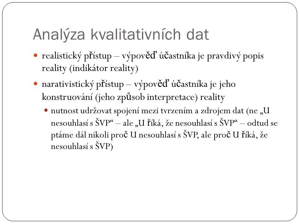 Analýza kvalitativních dat