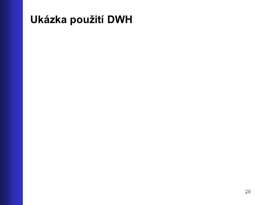 Ukázka použití DWH