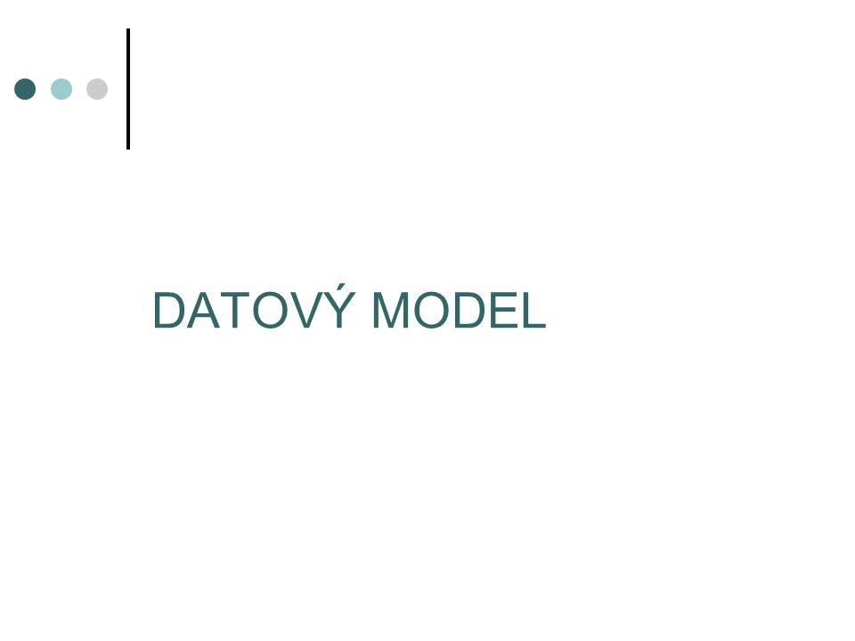 DATOVÝ MODEL