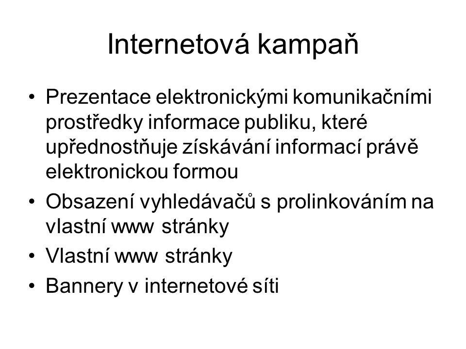 Internetová kampaň