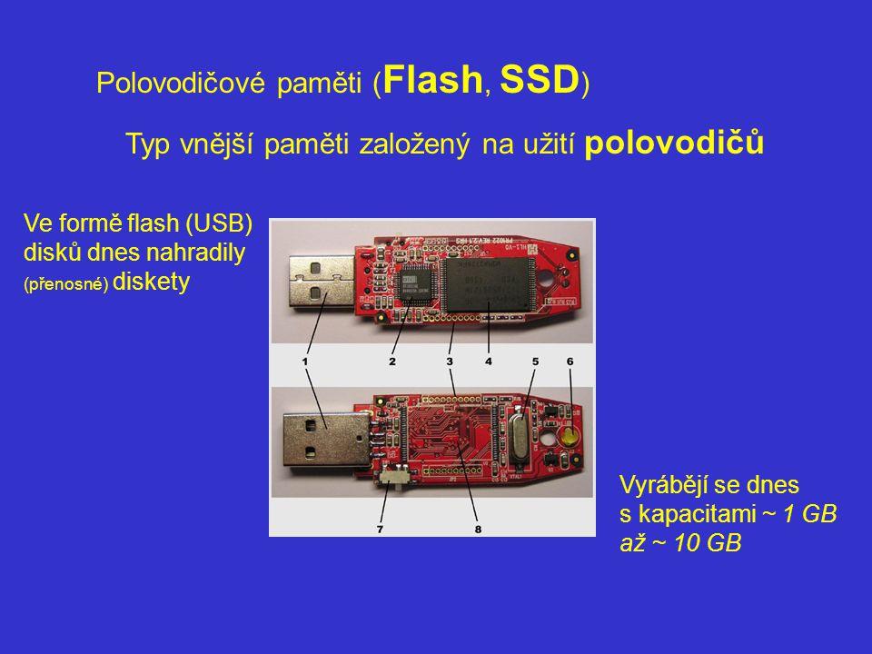 Polovodičové paměti (Flash, SSD)
