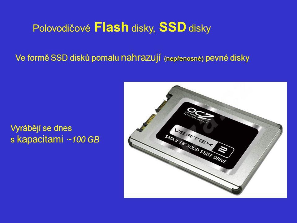 Polovodičové Flash disky, SSD disky