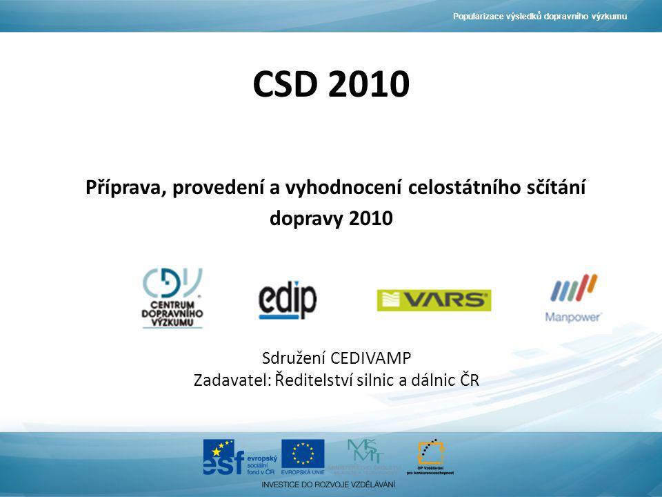 Zadavatel: Ředitelství silnic a dálnic ČR