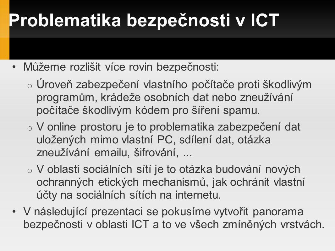 Problematika bezpečnosti v ICT