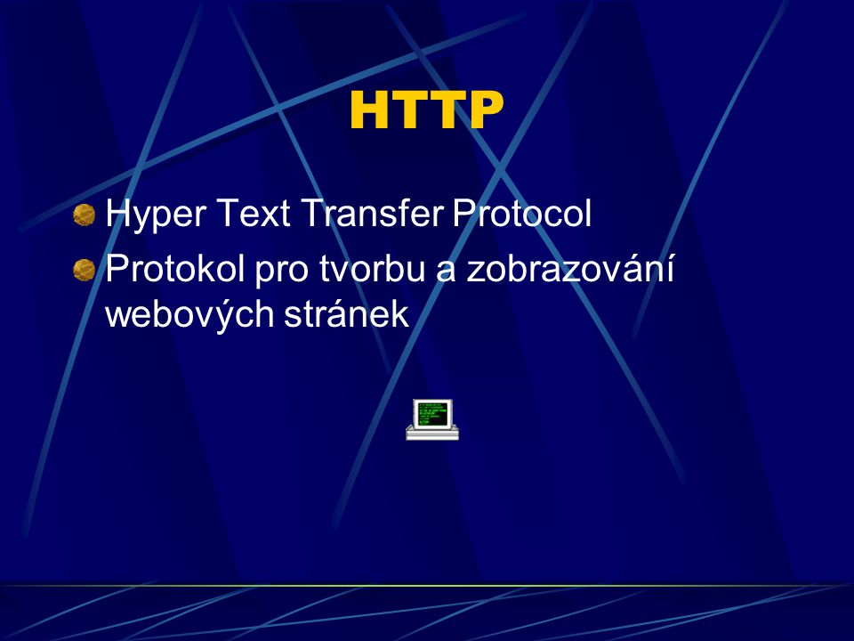 HTTP Hyper Text Transfer Protocol