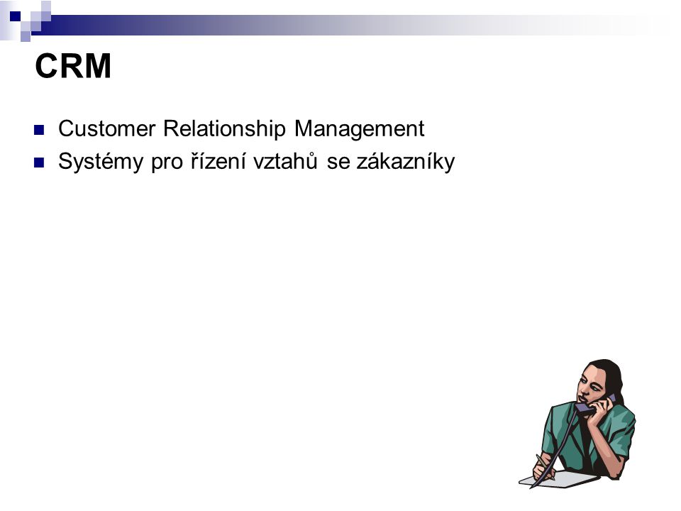 CRM Customer Relationship Management